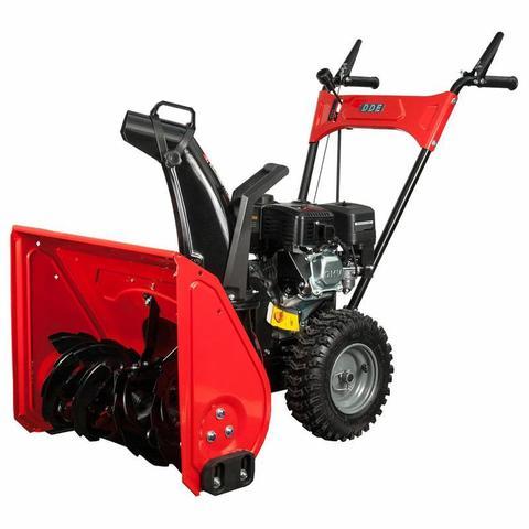 Снегоуборщик бензиновый DDE ST6560L (двиг Loncin 6,5 л.с. захват 24'' 4 вперёд/1 назад колёса 13