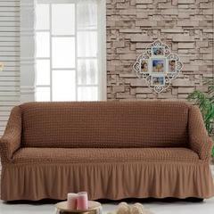 Чехол на диван универсальный на резинке 0015