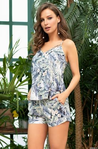 Комплект топ и шорты  Mia-Amore MADEIRA МАДЕЙРА 6972