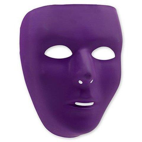 Маска пластик фиолетовая/А