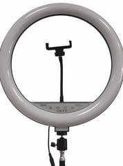 кольцевая лампа 36 см (сенсорная) с пультом