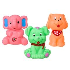 Набор для ванны из 3-х игрушек Hencz Toys Животные
