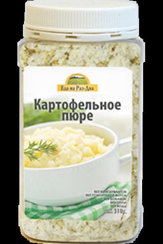 Картофельное пюре в ПЭТ-банке 'Здоровая еда' 310г