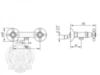 Смеситель для душа Migliore Lady ML.LAD-934 схема