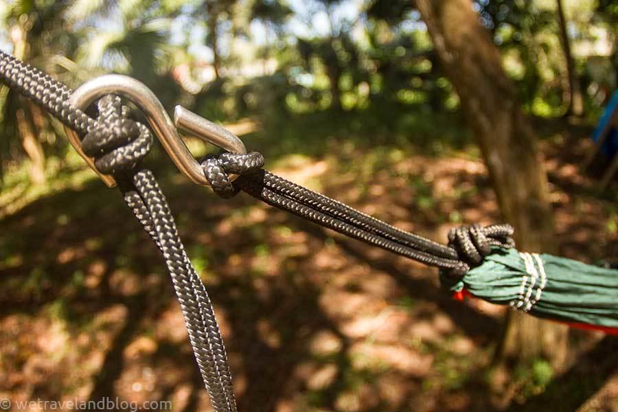 Веревки для гамака.