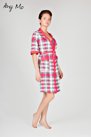 Комплект: халат и сорочка Any Mo 5-1703-1(с)