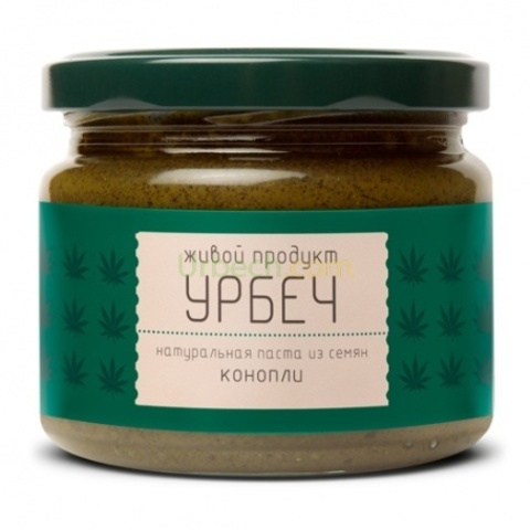 Урбеч из семян конопли, 225 гр. (Живой продукт)