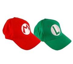 Супер Марио бейсболка Марио и Луиджи