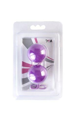 Фиолетовые вагинальные шарики BI-BALLS