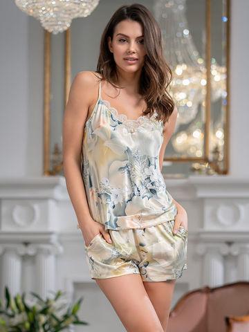 Пижама женская шелковая Mia-Amore LUCIANNA  Лучианна 3532
