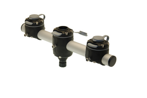 Тарга с тремя замками Gm350-3, 350 мм, черная