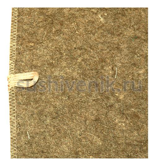 Серый коврик с звездой