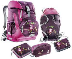 Deuter Onetwo Set (5 Предметов) сова - рюкзак школьный