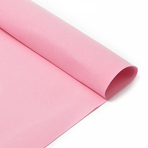Фоамиран 1мм, 50*50см, светло-розовый