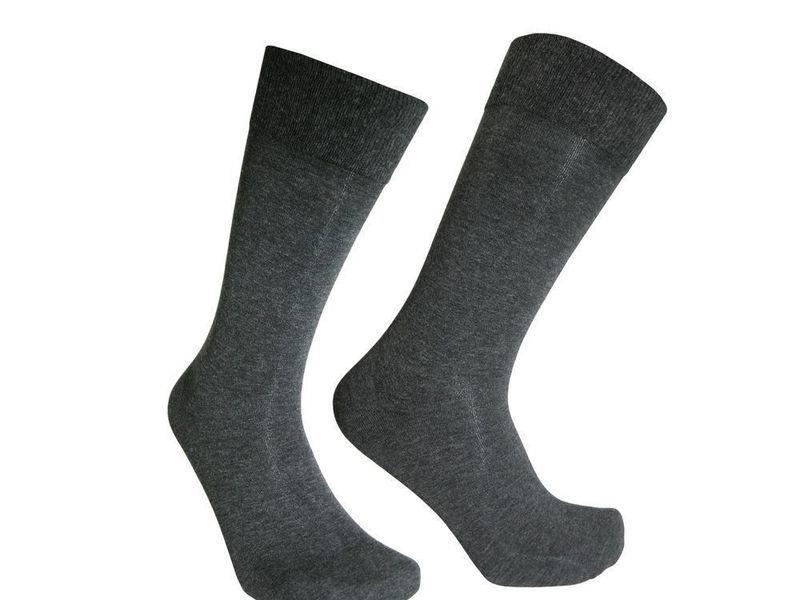 Мужские носки серые Sergio Dallini SDS803-3
