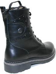 Ботинки черные женские Vivo Antistres Lena 603