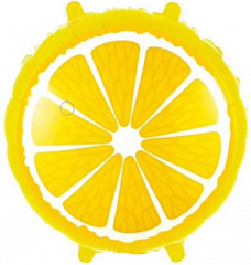 К 18''/46см, Круг, Лимон, Желтый.