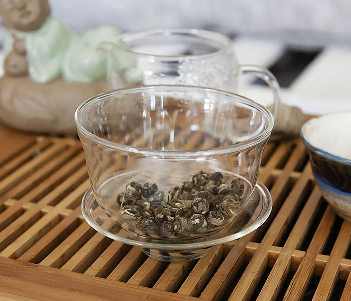 TEA-CH126 Китайский чай «Жасминовые Жемчужины Дракона» (Моли Лун Чжу, 50 гр) фото 07