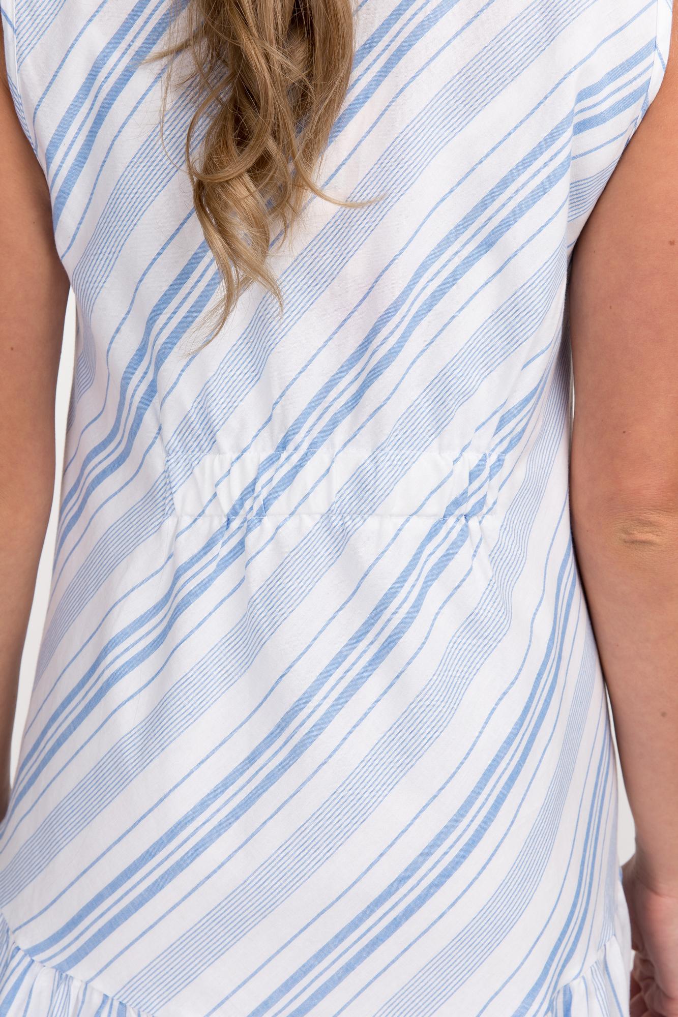Платье для беременных 09613 голубой