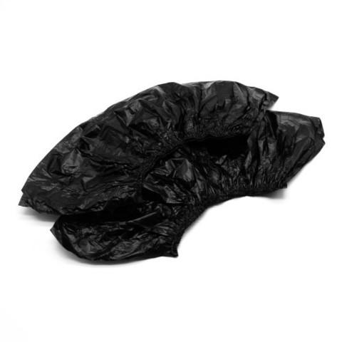 Бахилы экстра-плотные чёрные 100 штук