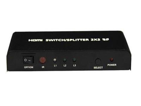 Hdmi 2х2 switcher/splitter (сплиттер, переключатель, свитчер)