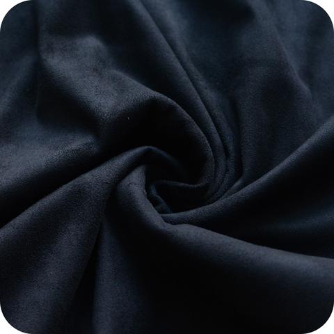 Искусственная замша, двухсторонняя, цвет: черный графит