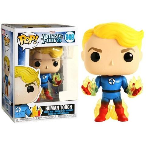 Human Torch (569) (Fantastic Four) Funko Pop! || Человек-Факел