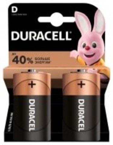 Элемент питания DURACELL (D)LR20-BL2