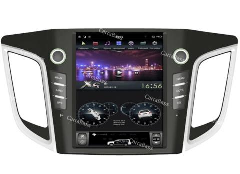 Магнитола Hyundai Creta 2016+ (стиль Tesla) Android 9.0 4/32GB IPS DSP модель ZF-1105-DSP