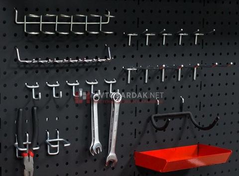 Крючки для плоскогубцев и кусачек (2 шт) на металлическую перфопанель