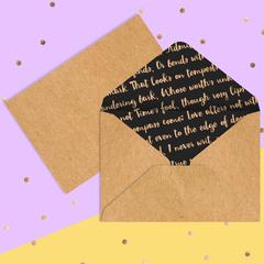 Конверт для денег Best wishes, 16 × 11 см