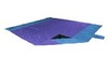 Картинка пляжное покрывало Ticket to the Moon Beach Blanket Purple/Light Blue - 1