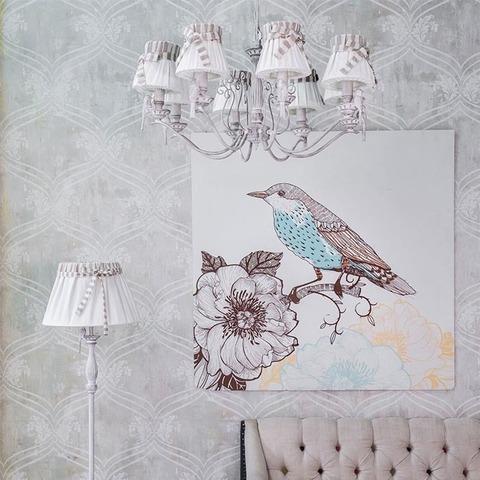 Люстра ARM013-08-W серии Bird
