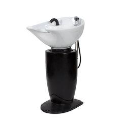 Парикмахерская мойка МД-39, комплектуется белой или черной раковиной, каркас пластик