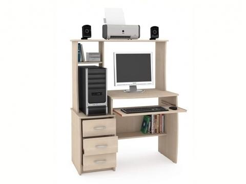 Компьютерный стол Комфорт 5 СКР Моби дуб паллада