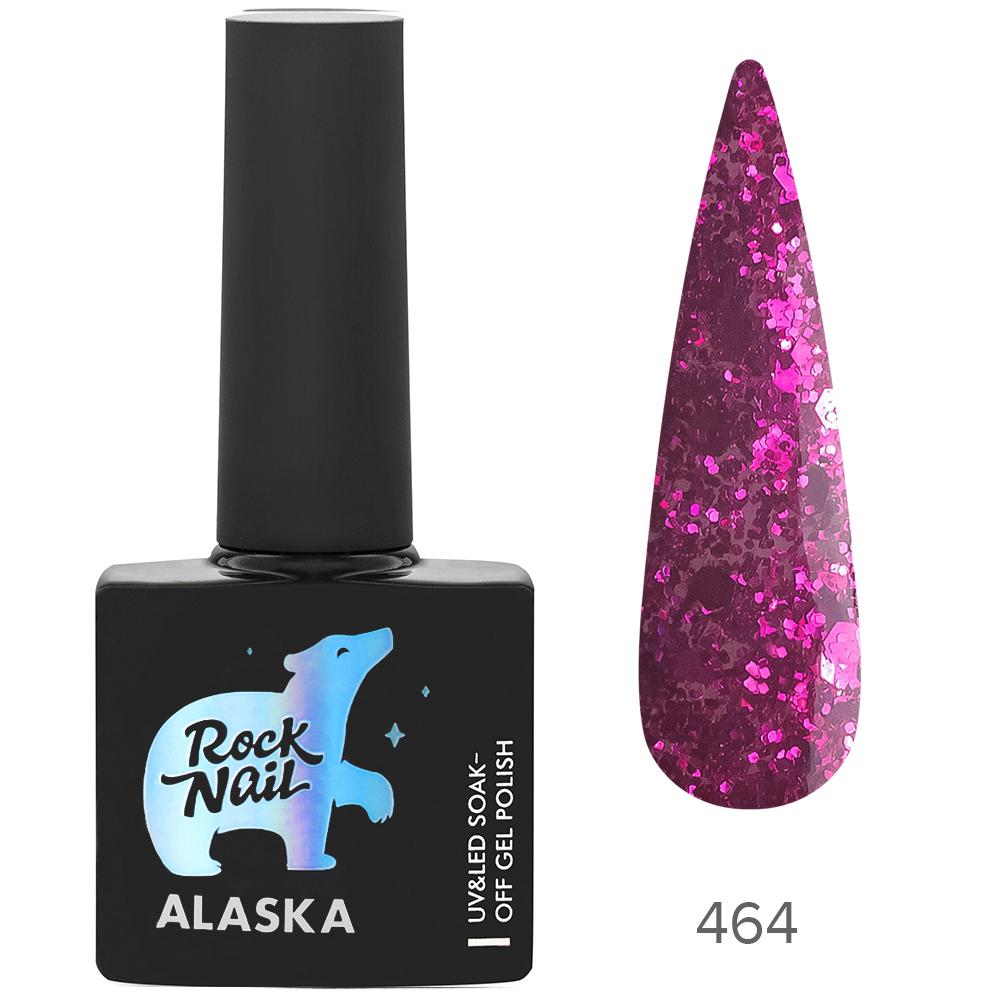 Гель-лак RockNail 464 Eskimo Kiss 10мл