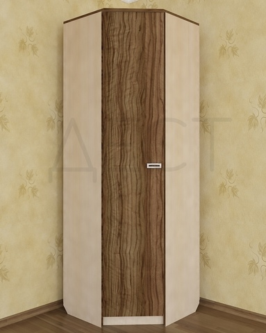 Шкаф угловой КВИНС левый /803*2100*803/