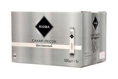 """Сахар """"Rioba"""" в стиках 500шт по 5г"""