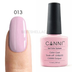Canni, Гель-лак № 013, 7,3 мл
