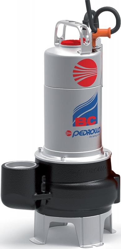 Насос фекальный погружной PEDROLLO BC 10/50-N (каб. 5м) 12м, 36м3/ч.