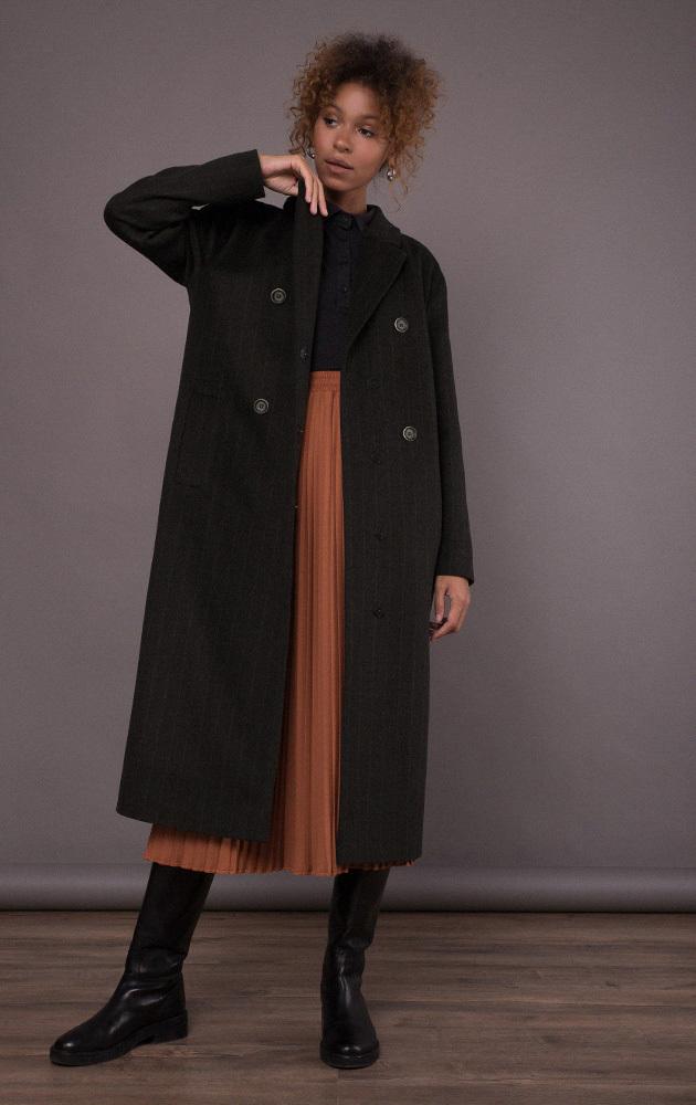 Пальто прямого крою MR520