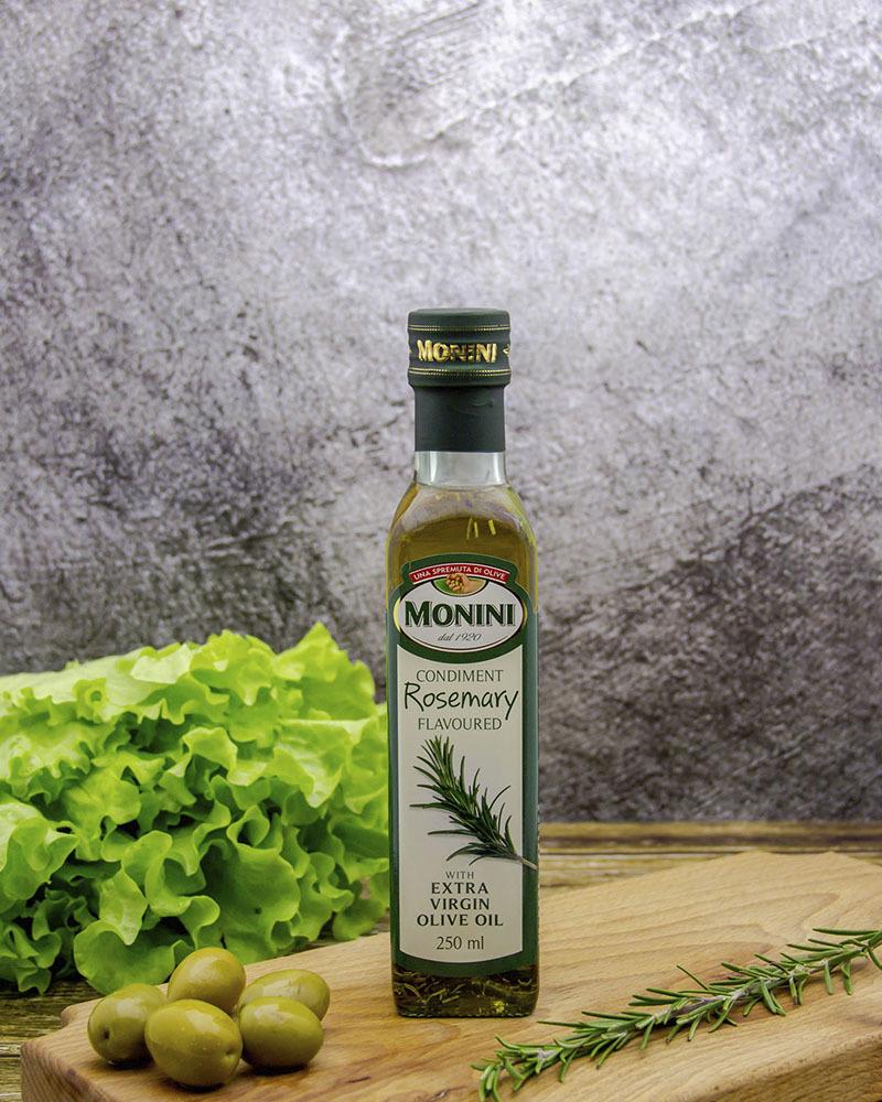 Масло оливковое Monini Экстра Вирджин c Розмарином 0,25 л.