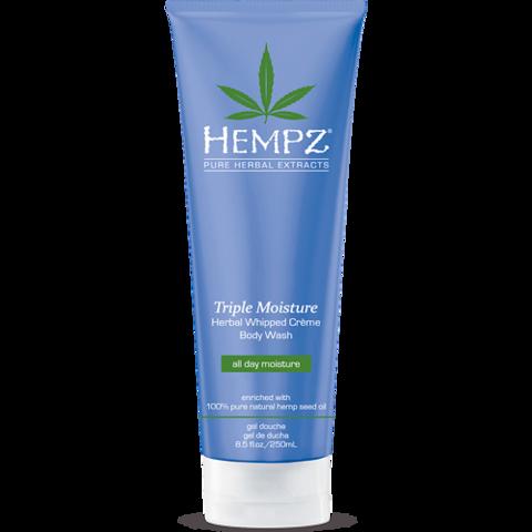 Гель для душа  Тройное Увлажнение / Hempz Triple Moisture Herbal Body Wash