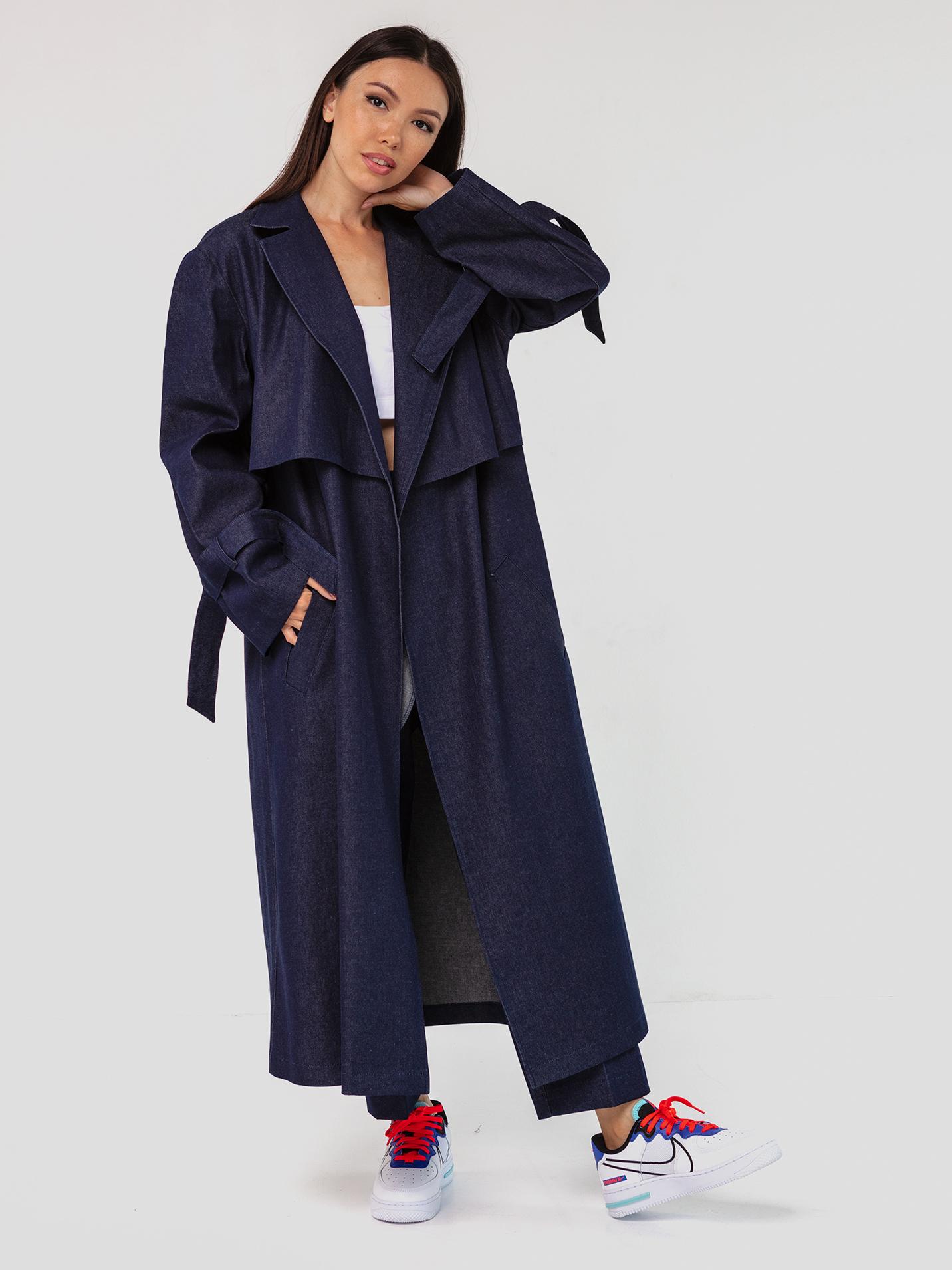 Тренч джинсовый YOS от украинского бренда Your Own Style