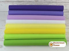 Набор корейского мягкого фетра 15*20 см № 2