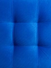 Пф-800-Я Пуфик квадратный (синий) с ящиком для хранения