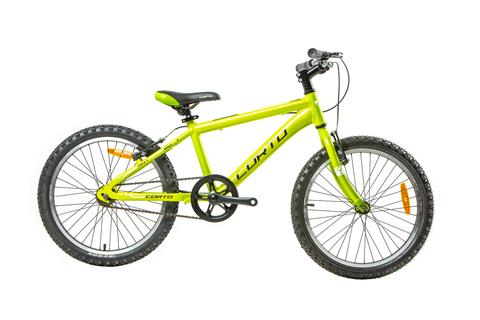 детский велосипед Corto ANT зеленый