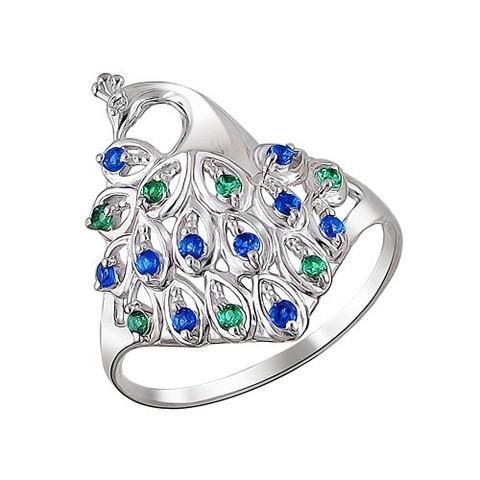 1010010348- Серебряное кольцо