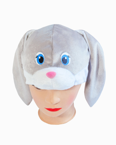 Купить Маска-шапочка Серого Зайца - Магазин