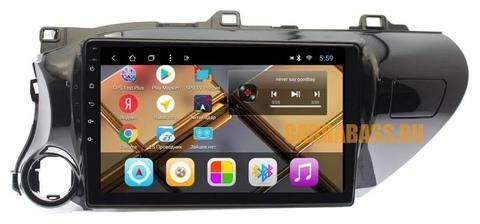 Штатная магнитола для Toyota Hilux (2015-2019)Android 9.0 2/32 модель CB 3111T8
